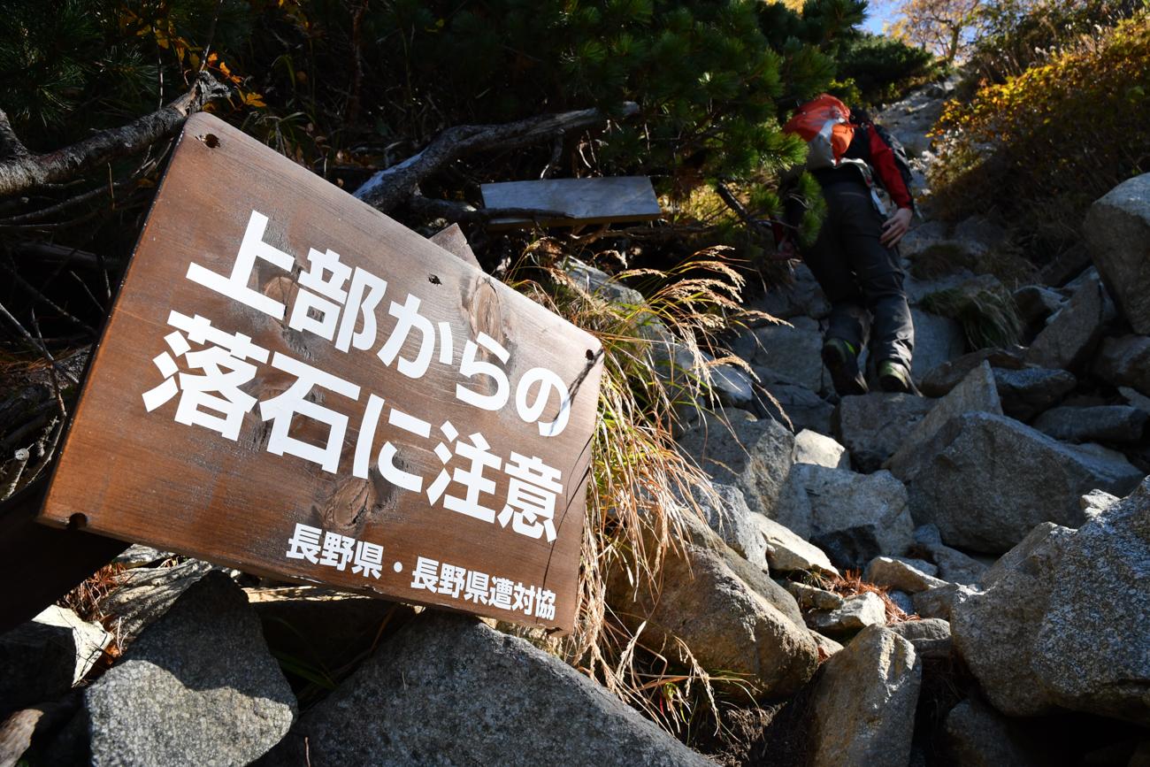 前穂高岳 日帰り登山