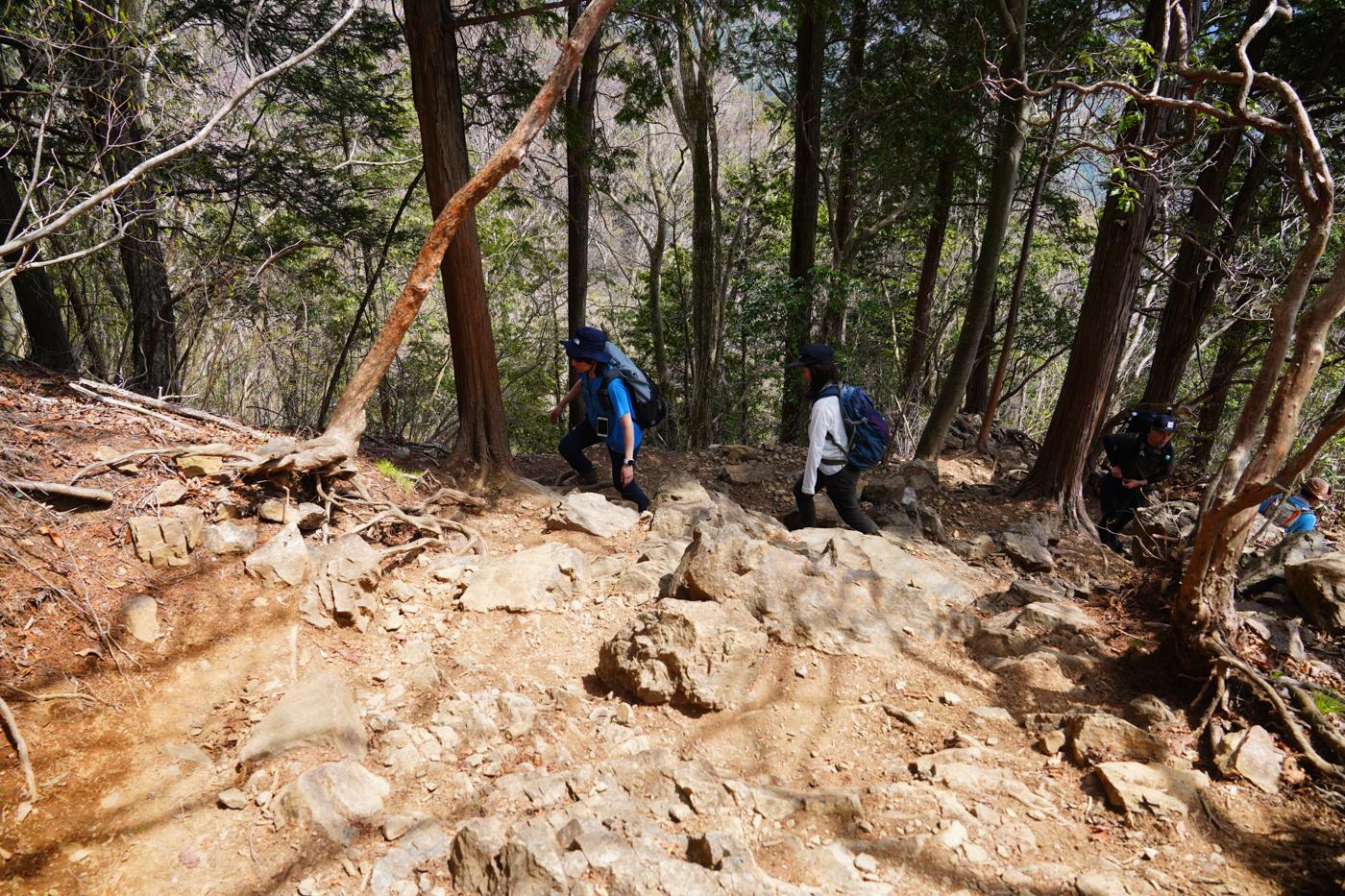 御岳山 大岳山 日の出山 聖地巡礼の日帰り登山