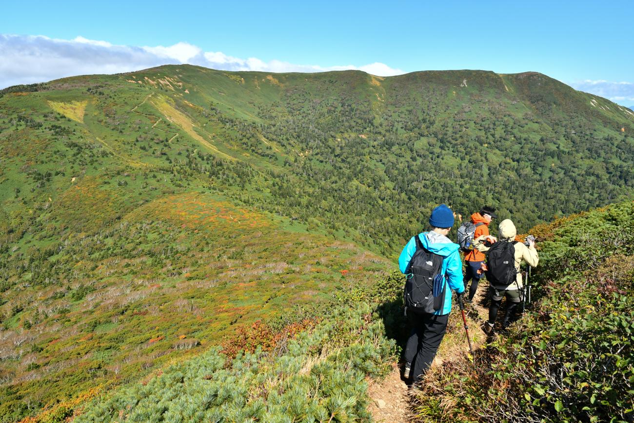 三ツ石山 紅葉登山 2020年