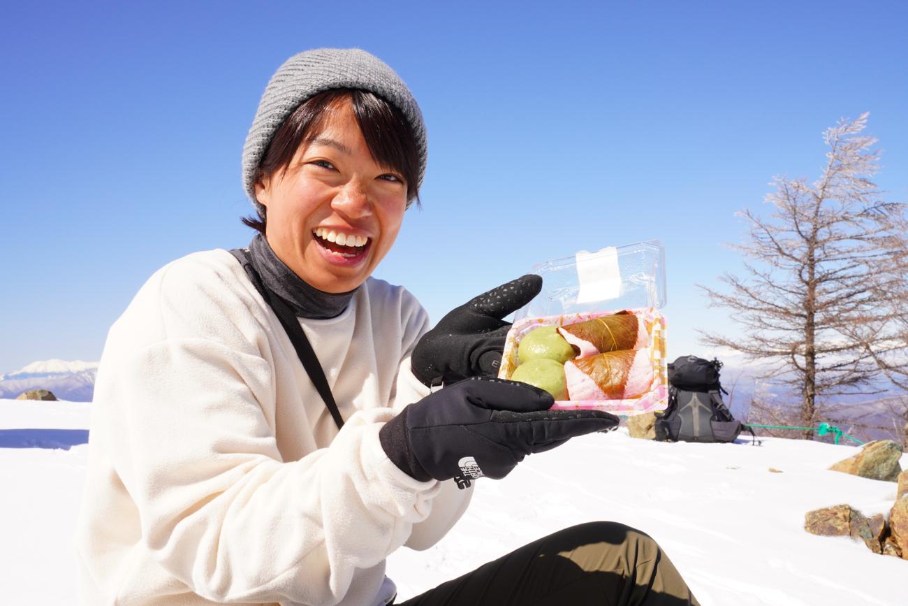 入笠山 霧氷ハイキング