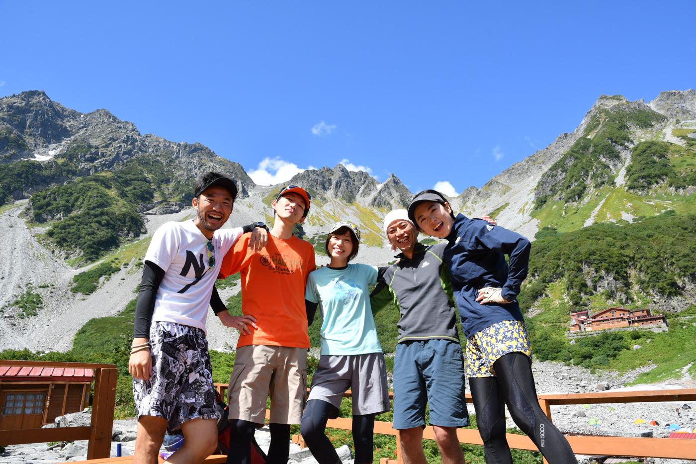 奥穂高岳 登山2017