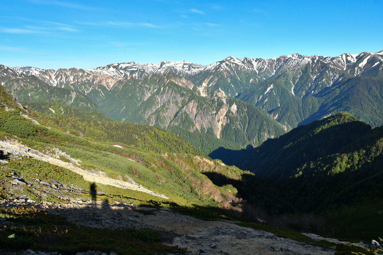 大天井岳 テント泊登山
