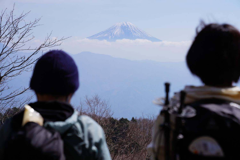 七面山 登山