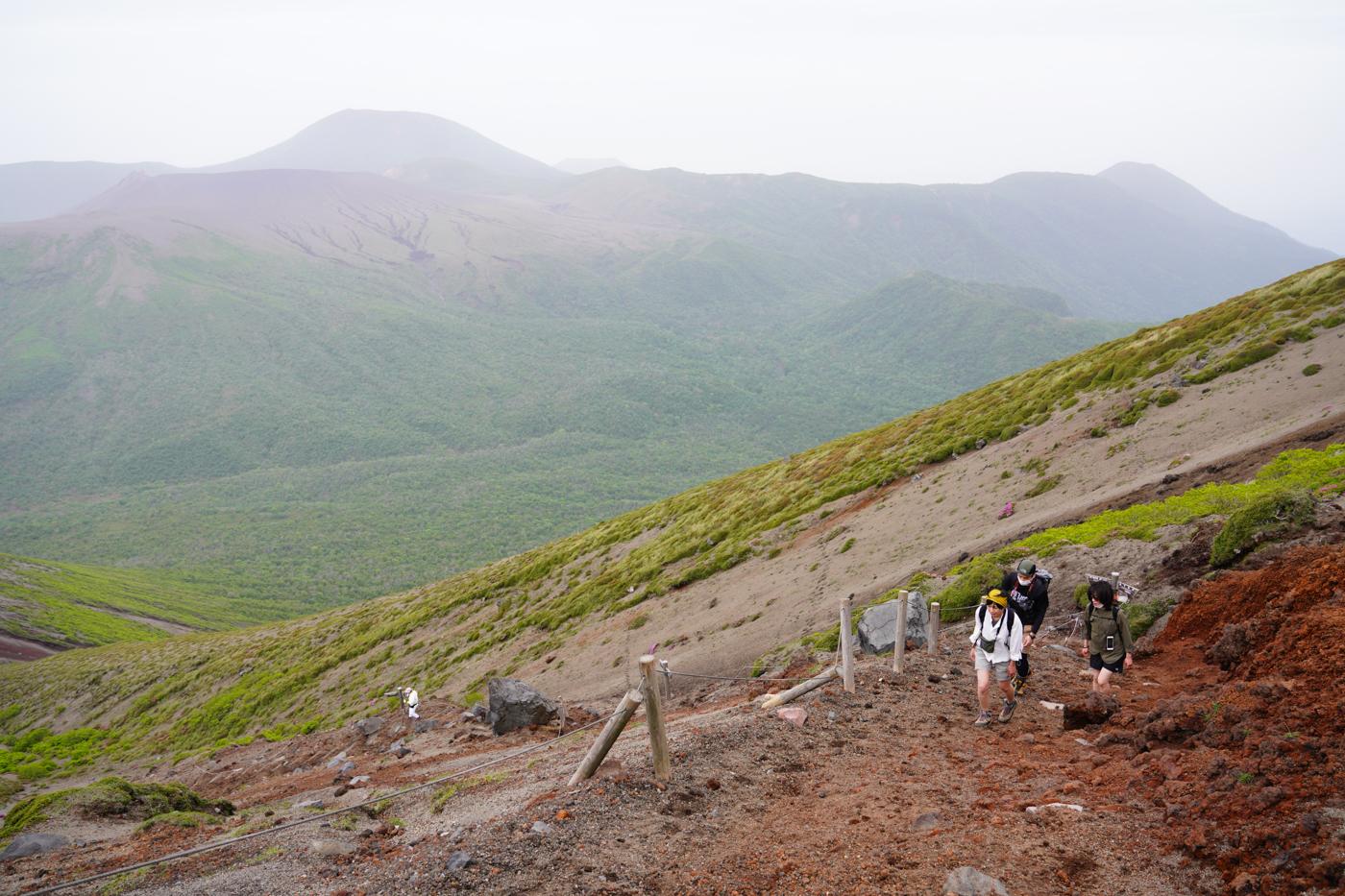 高千穂峰 ミヤマキリシマ登山