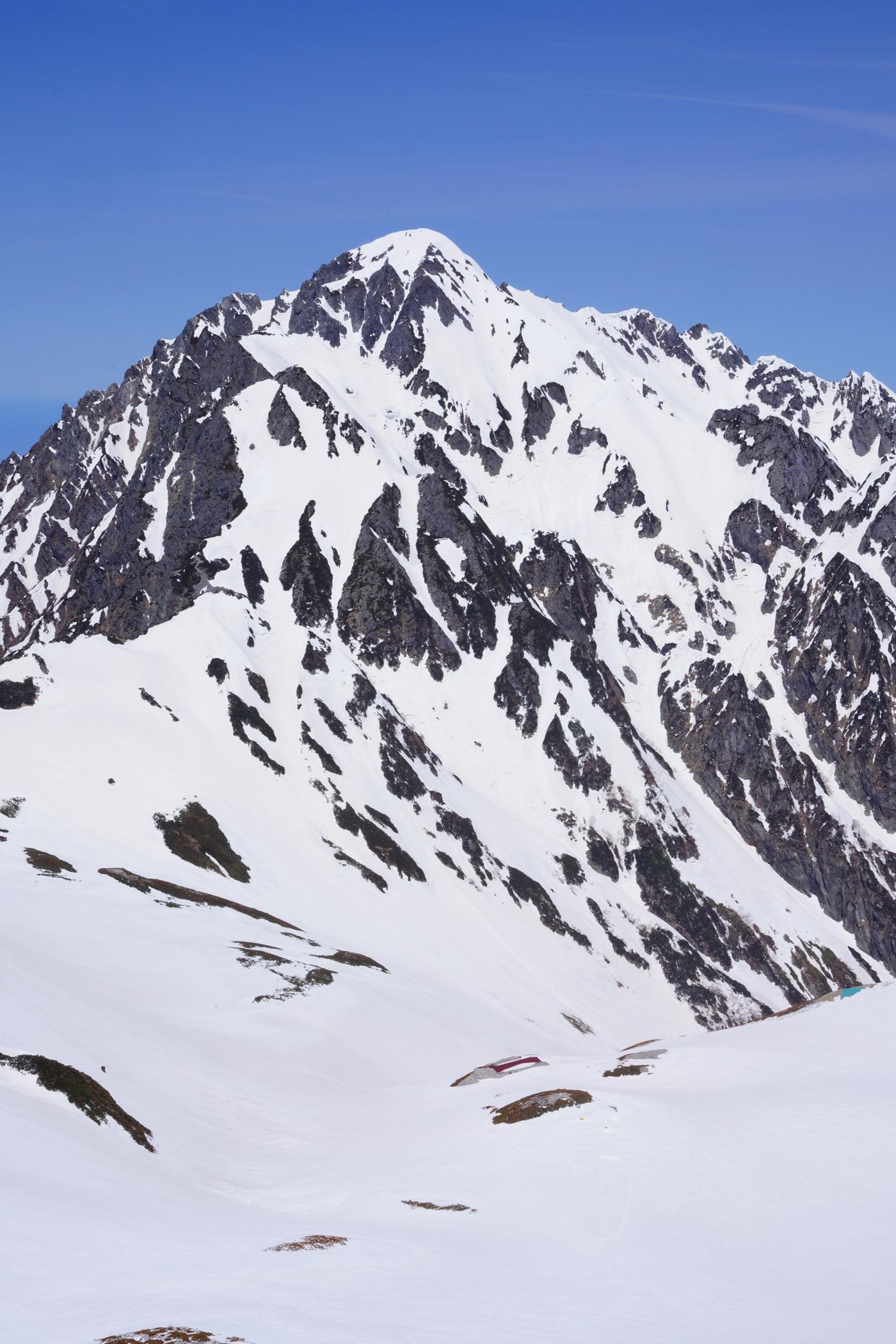 立山 別山 残雪の4月下旬登山