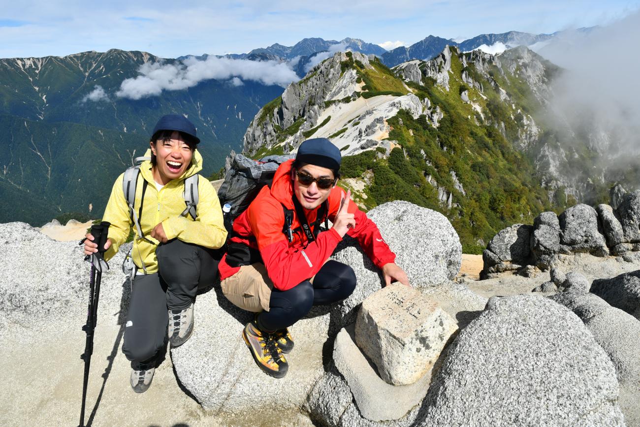 燕岳 日帰り登山 2020年9月