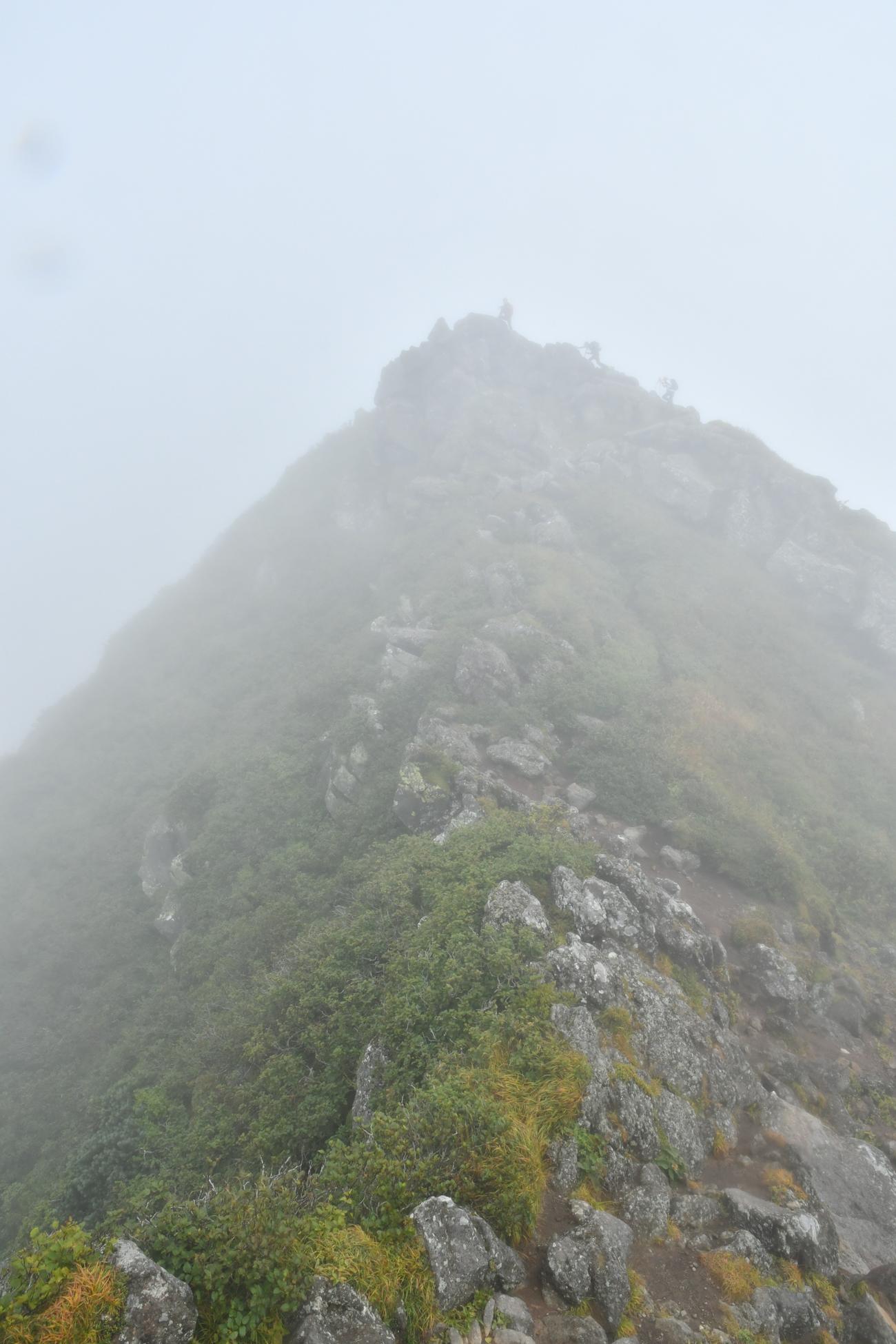 羊蹄山 登山
